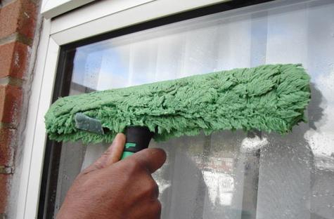 Aprender a limpar janelas