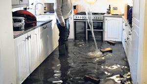 Como resolver uma inundação em casa